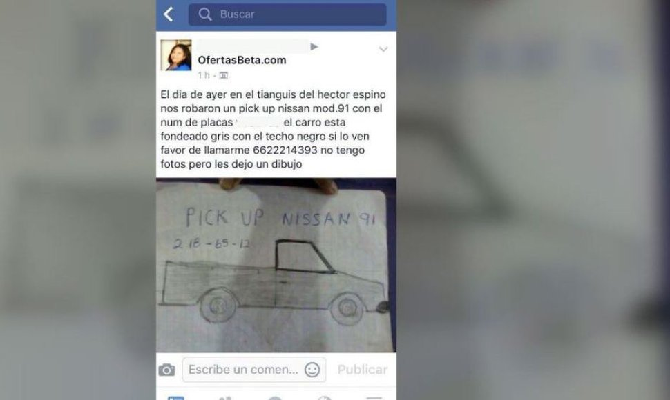Zaira Salazar compartió este post una pick up Nissan 91 .
