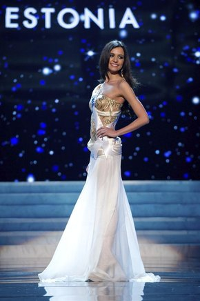 Miss Estonia, Natalie Korneitsik. EFE / END