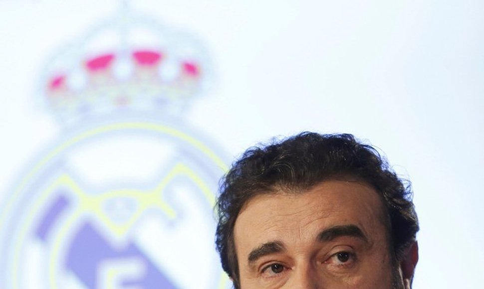 José Angel Sánchez, director general del Real Madrid.