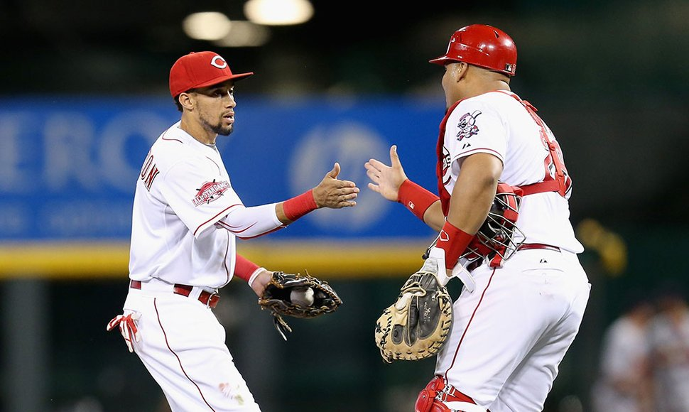 El veloz Billy Hamilton.