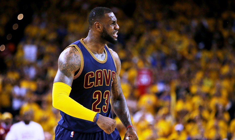 LeBron James ha cargado con los Cavaliers en la final de la NBA.