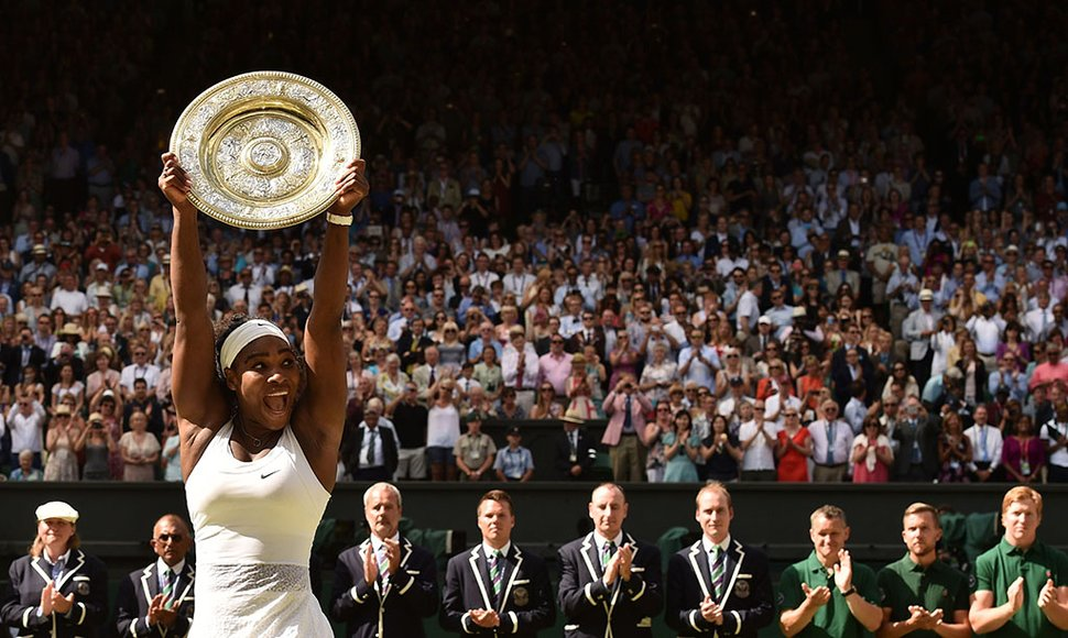 Serena Williams ganó su trofeo número 21 de Grand Slam.