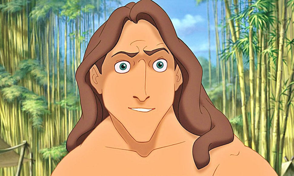 Tarzan. Nocookie / END