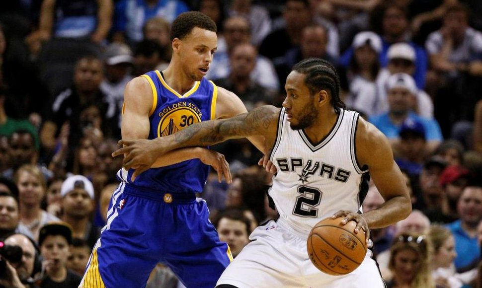 Los Spurs, con una buena estrategia defensiva, frenaron a los Warriors.