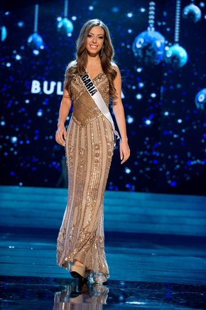 Miss Bulgaria, Zhana Yaneva. EFE / END