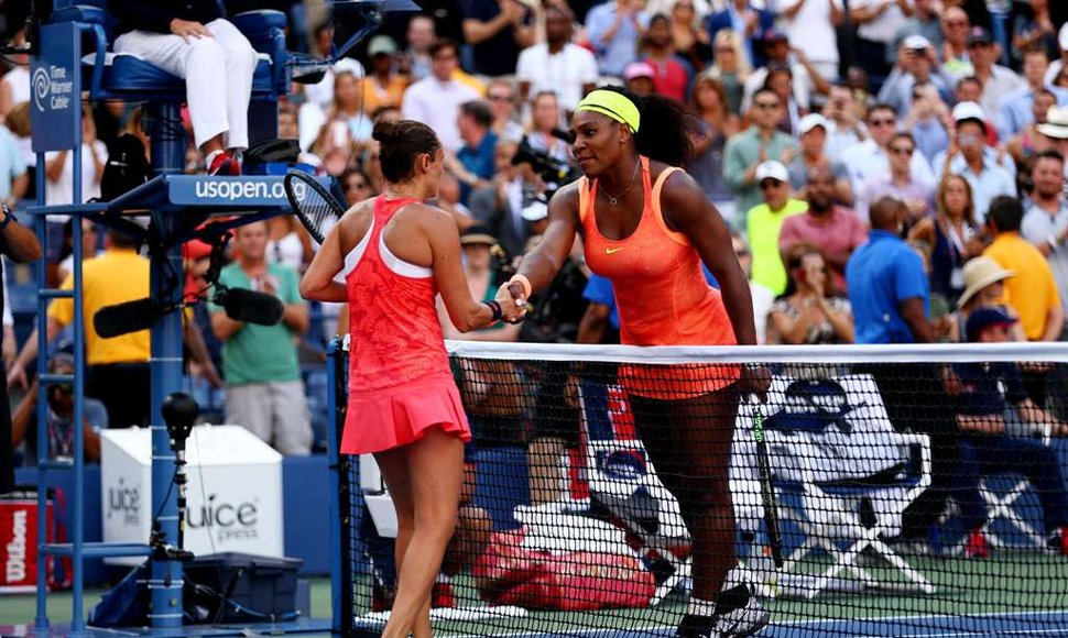 Serena Williams y Roberta Vinci