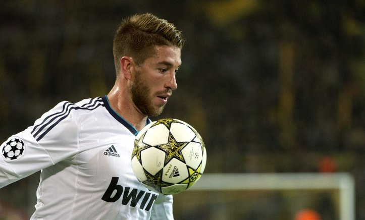 El defensa español del Real Madrid, Sergio Ramos. END/AFP/ODD ANDERSEN