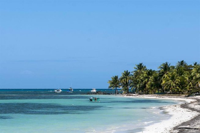 Playa La Diosa en Little Corn Island.