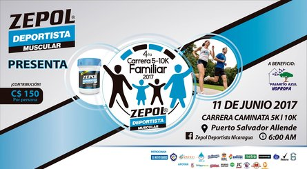 IV Carrera Familiar Zepol Deportista Muscular