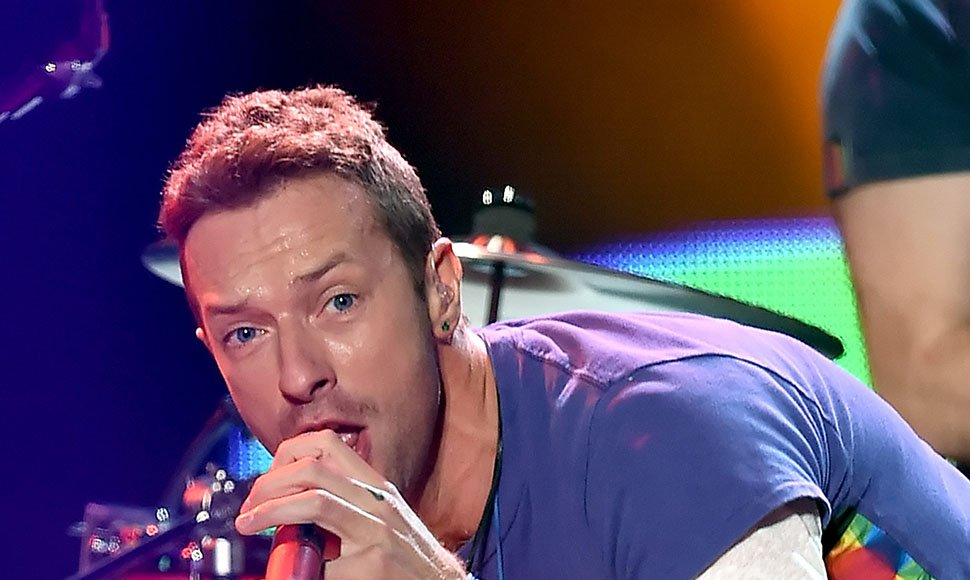 Chris Martin, vocalista de Coldplay.
