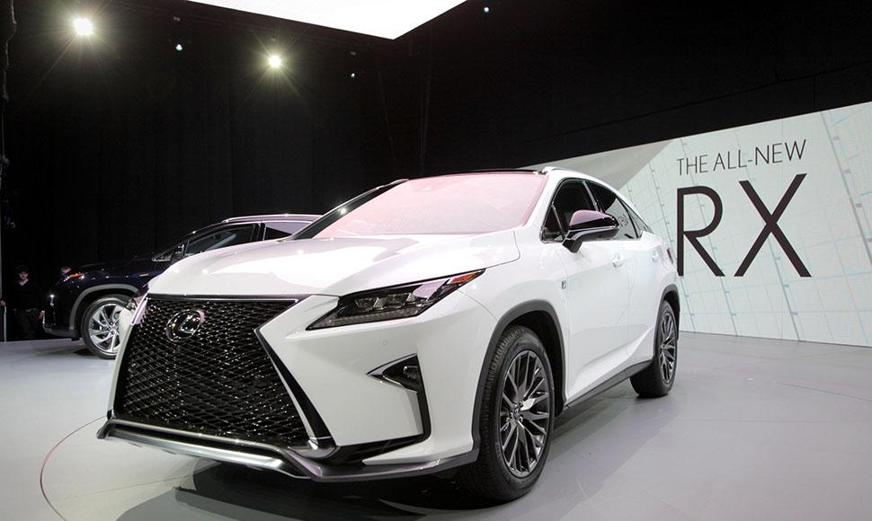El Lexus RX 2016. Internet / END