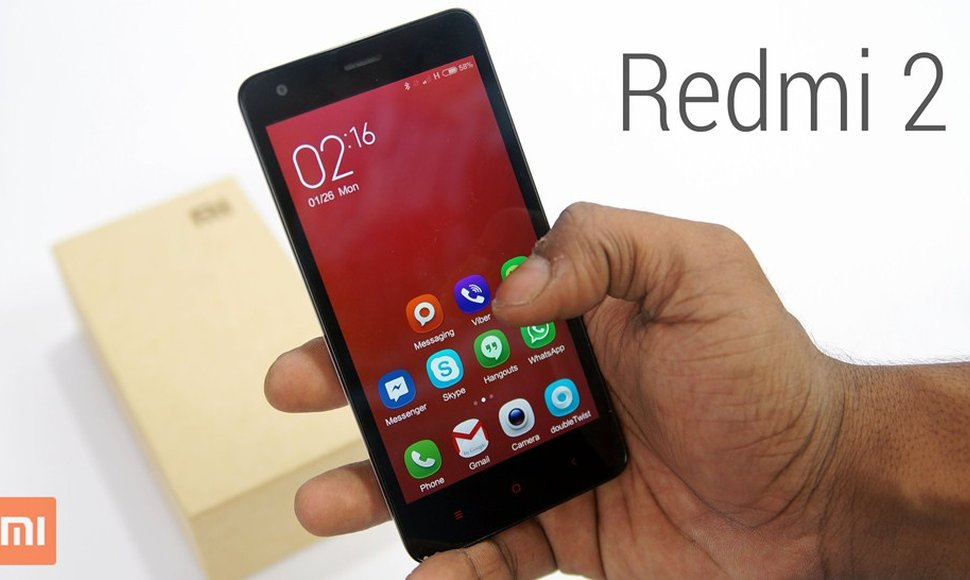 El dispositivo Redmi 2.