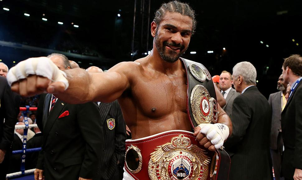 DAVID HAYE SE EXHIBIÓ EN EL 02 DE LONDRES.