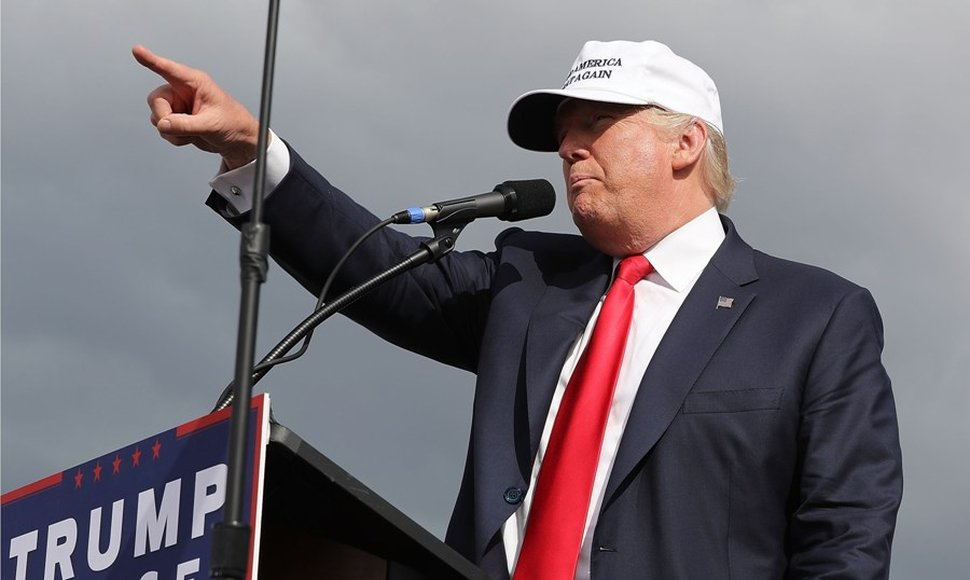 Donald Trump, candidato republicano.