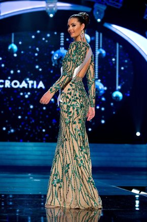Miss Croacia 2012, Elizabeta Burg. EFE / END