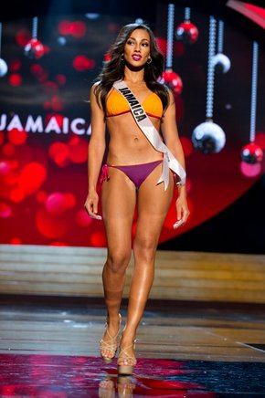 Miss Jamaica 2012, Chantal Zaky. AFP / END