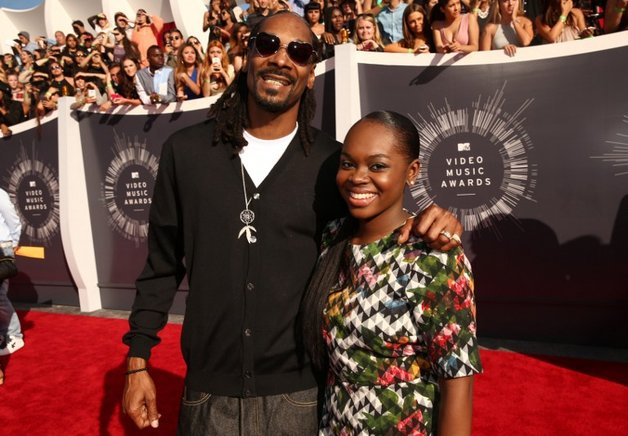 Snoop Dogg y Cori Broadus. AFP / END