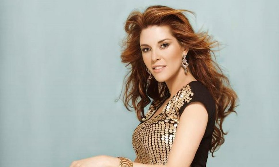 Alicia Machado, actriz venezolana. INTERNET /END