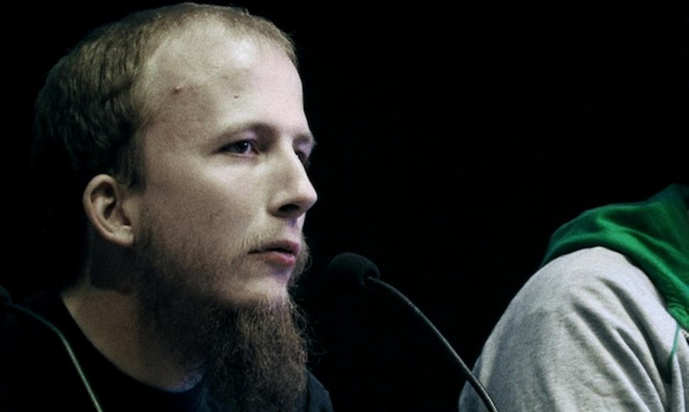 El sueco Gottfrid Svartholm Warg, cofundador de The Pirate Bay.