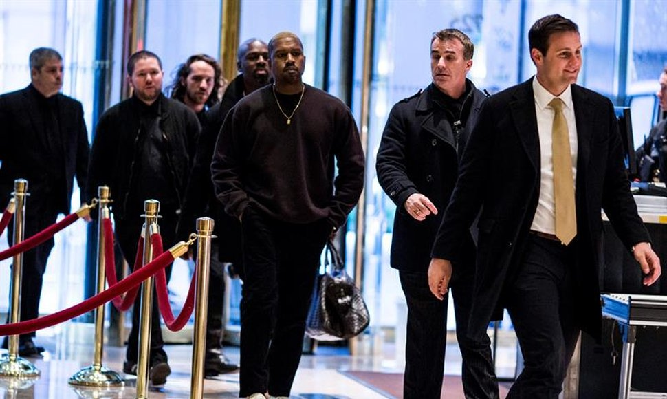 Resultado de imagen para Kanye West y Donald Trump se reunieron (VIDEO)