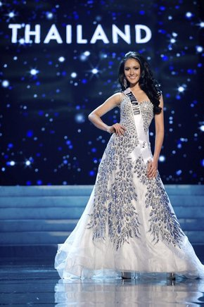 Miss Tailandia, Nutpimon Farida Waller. EFE / END