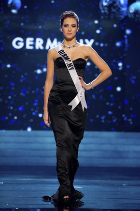 Miss Alemania, Alicia Endemann. EFE / END