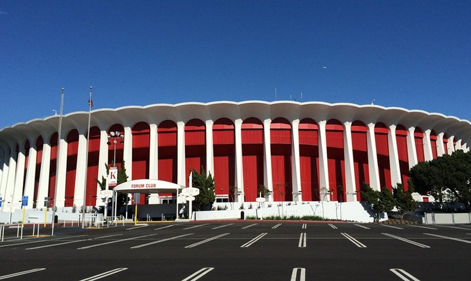"The ""Fabulous"" Forum, en Inglewood."