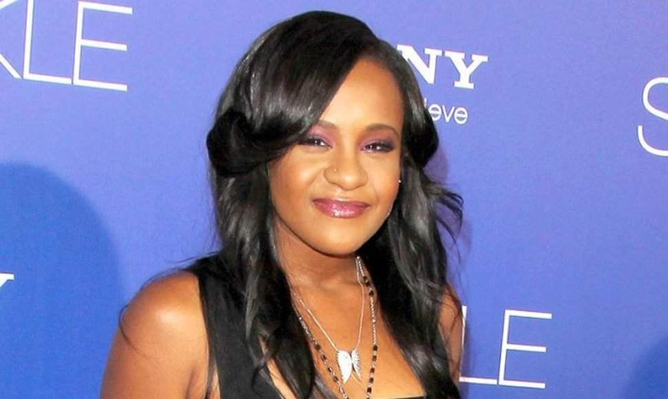 Bobbi Kristina Brown, hija de la cantante Whitney Houston.