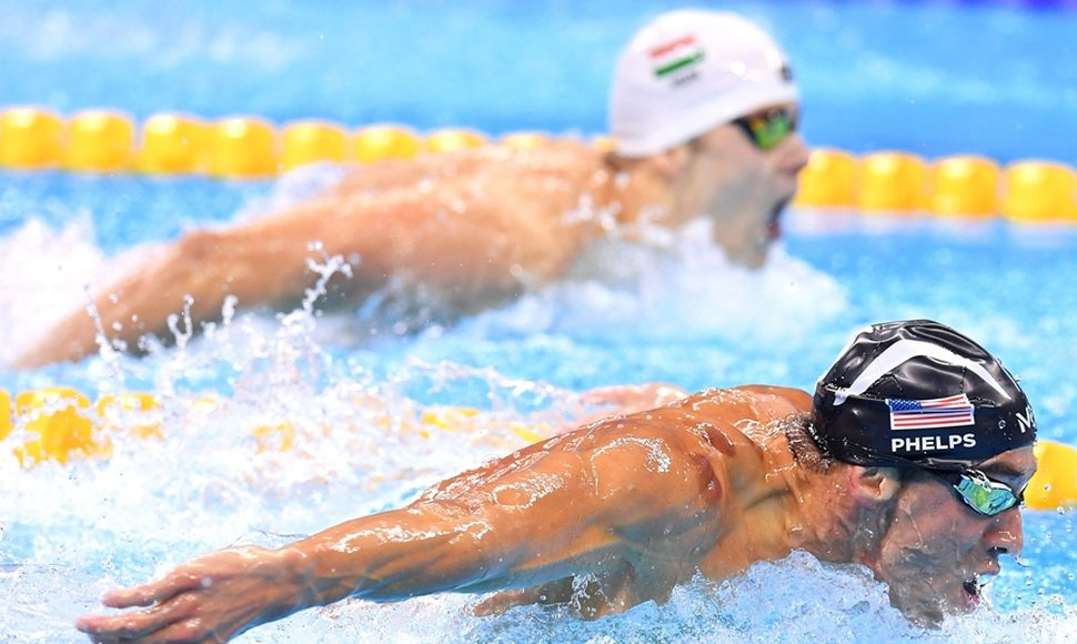 Michael Phelps impuso un dominio espectacular en Río.
