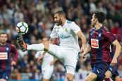 Benzema esconde la espesura del Real Madrid