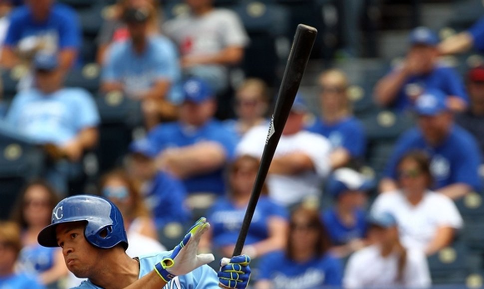 Cheslor Cuthbert fue titular con Kansas City.
