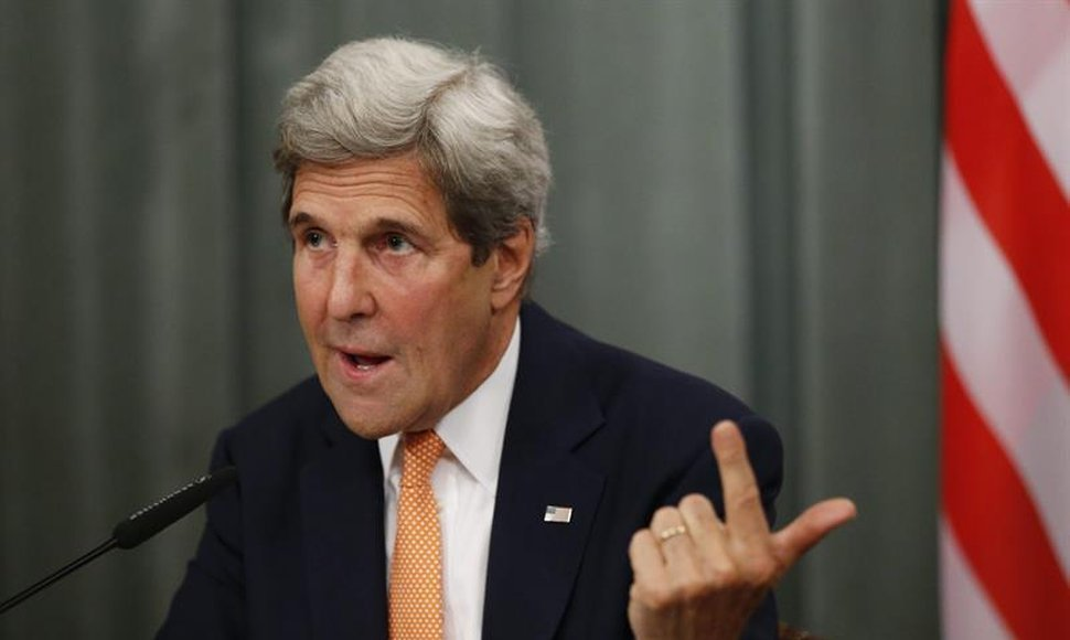 John Kerry, secretario de Estado norteamericano.