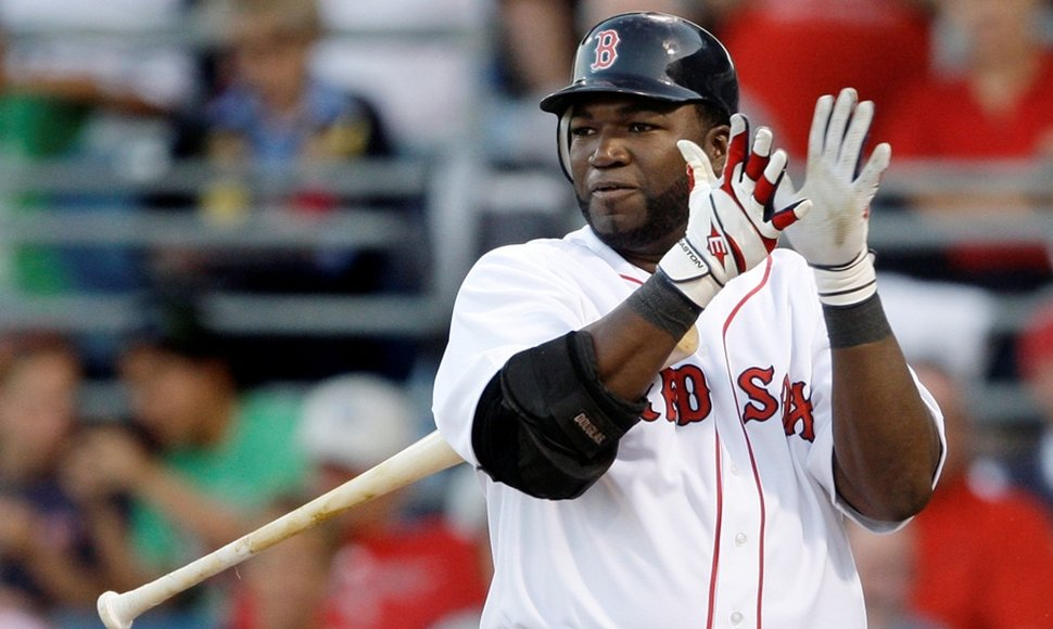 David Ortiz, artillero de Boston.