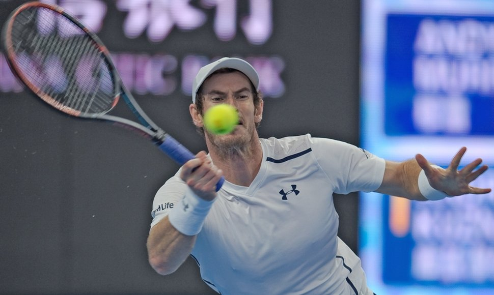 Andy Murray salta como favorito en Pekín.