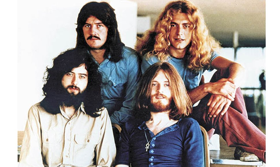 La legendaria banda, Led Zeppelin.