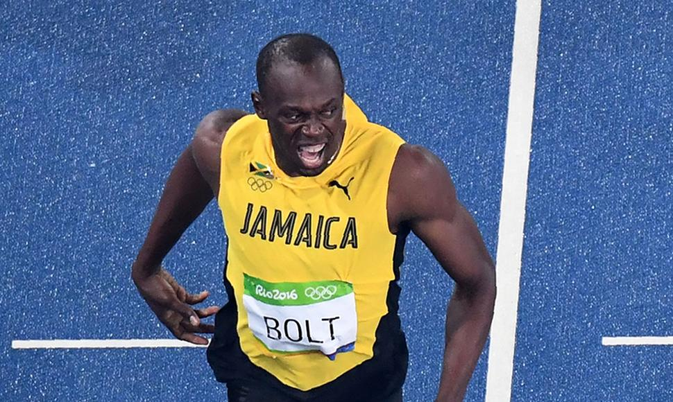 Usain Bolt es imparable