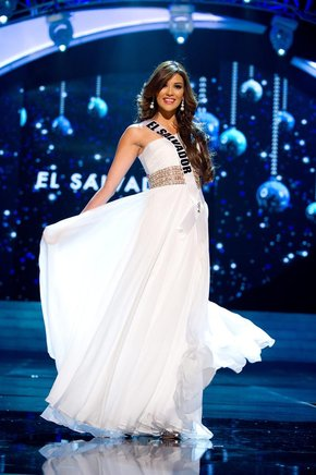 Miss El Salvador, Ana Yancy Clavel. EFE / END