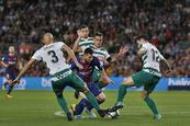 Messi catapulta  al Barsa