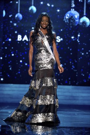 Miss Bahamas,Celeste Marshall. EFE / END