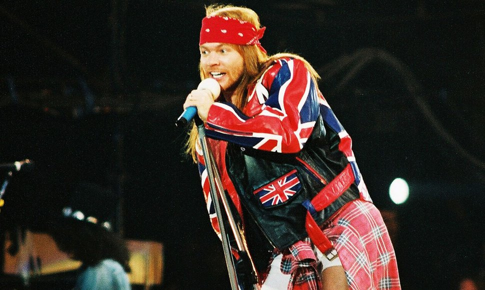 Axl Rose. INTERNET/ END