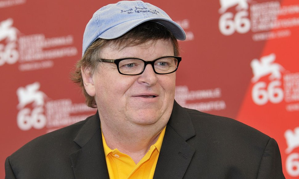 Cineasta Michael Moore.