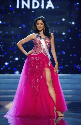 Miss India 2012, Shilpa Singh. EFE / END