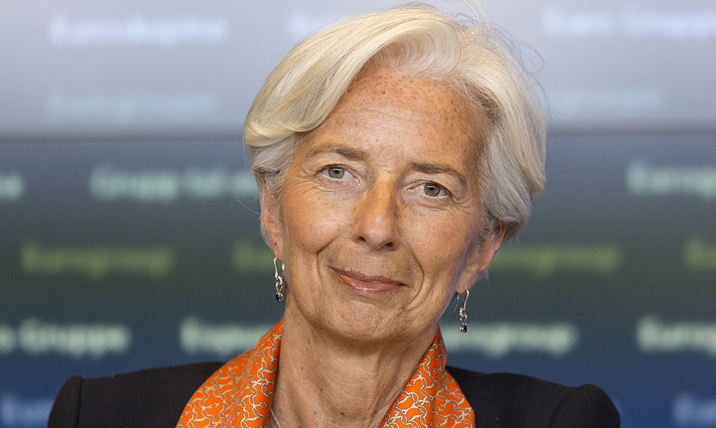 CHRISTINE LAGARDE. AFP