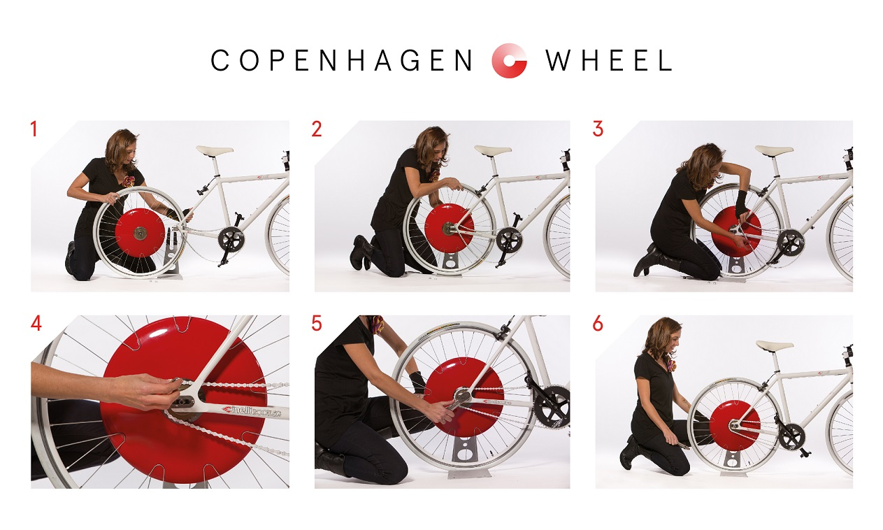 Copenhagen Wheel. CORTESÍA