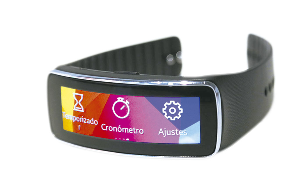 Samsung Gear Fit.
