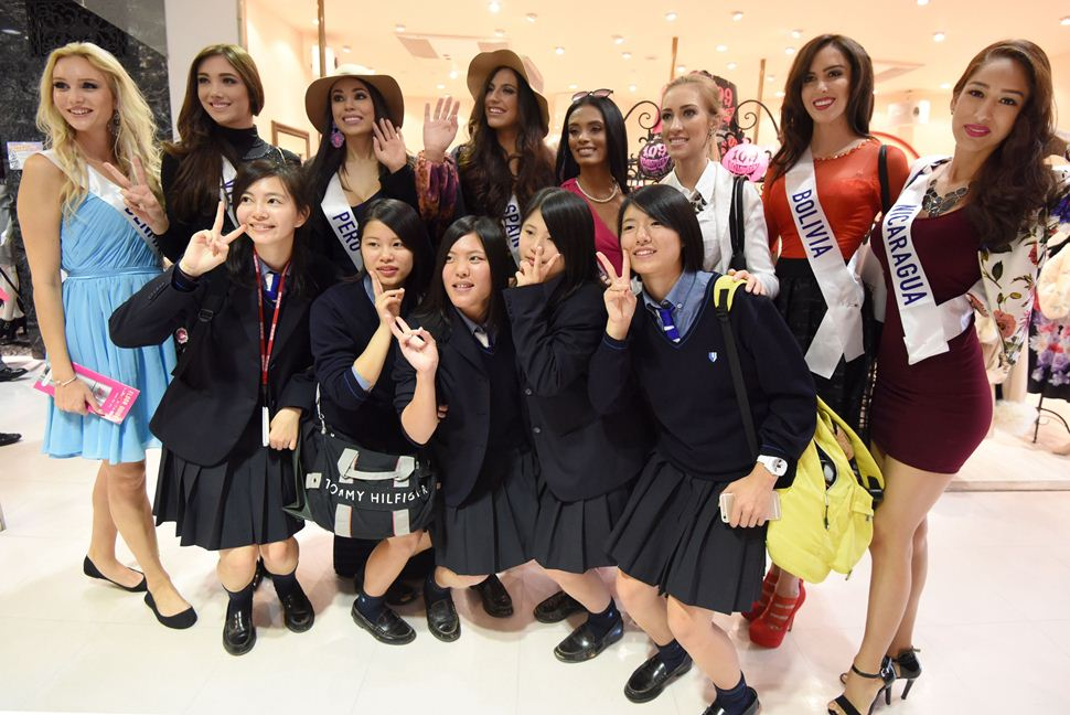 Candidatas del Miss International 2015.