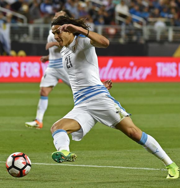 Edinson Cavani. AFP / END