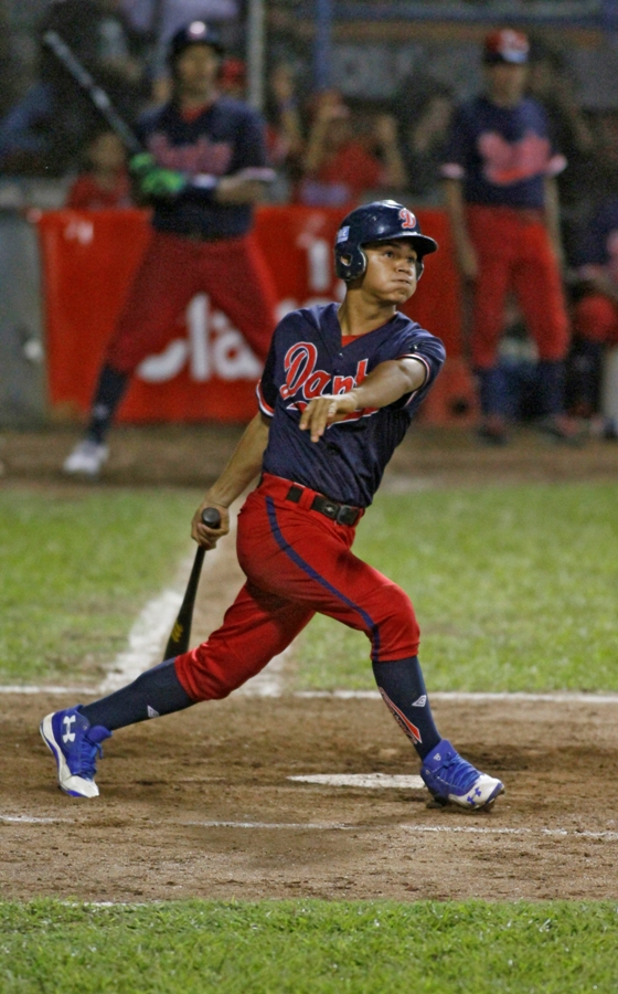 William Rayo empujó dos carreras con hit