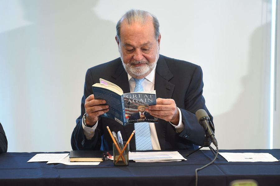 Carlos Slim AFP/END