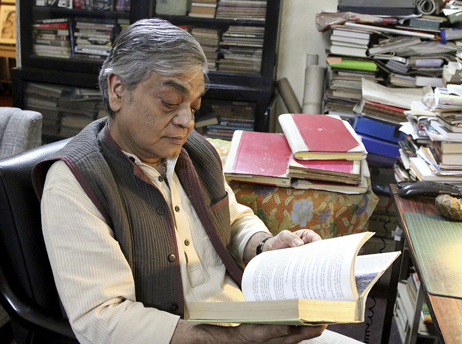 Sandip Ray, hijo de Satyajit Ray. EFE/END
